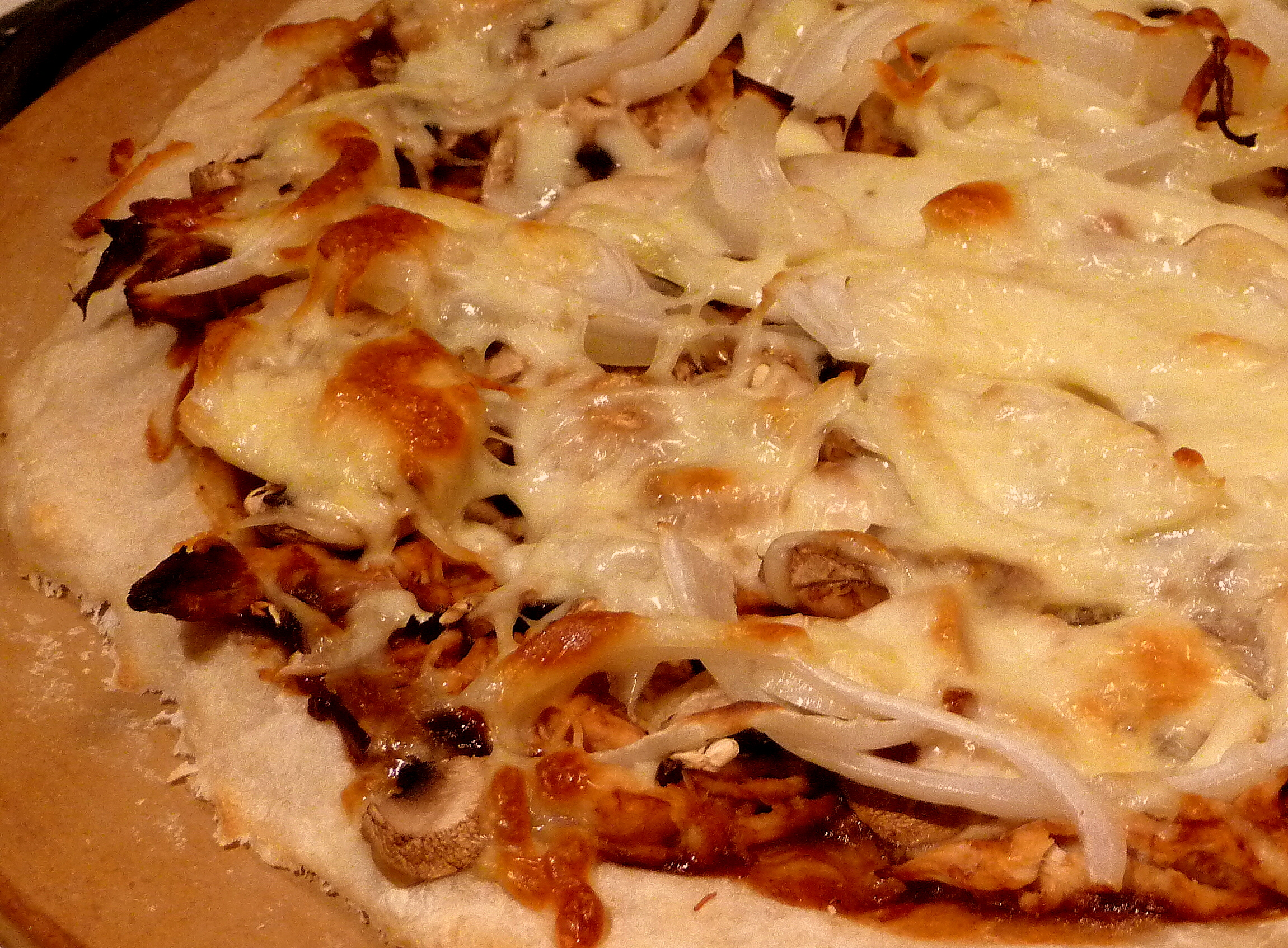 BBQ Chicken Pizza | The Hungry Teacher